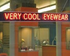Very Cool Eyewear sign 4x